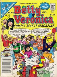 Cover Thumbnail for Betty and Veronica Comics Digest Magazine (Archie, 1983 series) #23