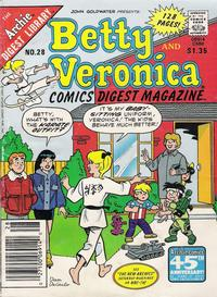 Cover Thumbnail for Betty and Veronica Comics Digest Magazine (Archie, 1983 series) #28