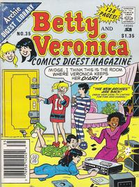 Cover Thumbnail for Betty and Veronica Comics Digest Magazine (Archie, 1983 series) #35