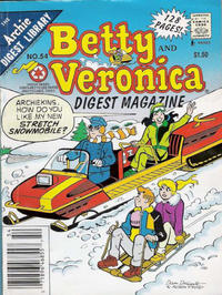 Cover Thumbnail for Betty and Veronica Comics Digest Magazine (Archie, 1983 series) #54