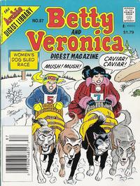 Cover Thumbnail for Betty and Veronica Comics Digest Magazine (Archie, 1983 series) #87 [Newsstand]