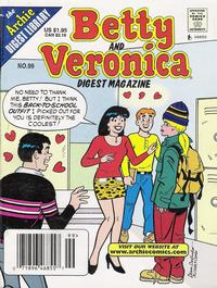 Cover Thumbnail for Betty and Veronica Comics Digest Magazine (Archie, 1983 series) #99