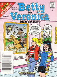 Cover Thumbnail for Betty and Veronica Comics Digest Magazine (Archie, 1983 series) #110