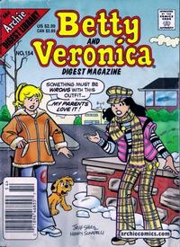 Cover Thumbnail for Betty and Veronica Comics Digest Magazine (Archie, 1983 series) #154