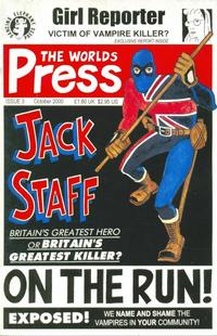 Cover Thumbnail for Jack Staff (Dancing Elephant Press, 2000 series) #3