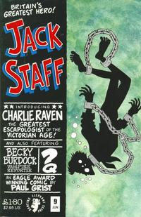 Cover Thumbnail for Jack Staff (Dancing Elephant Press, 2000 series) #9