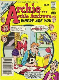 Cover Thumbnail for Archie... Archie Andrews, Where Are You? Comics Digest Magazine (Archie, 1977 series) #27