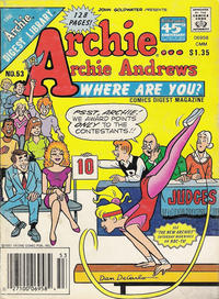 Cover Thumbnail for Archie... Archie Andrews Where Are You? Comics Digest Magazine (Archie, 1977 series) #53