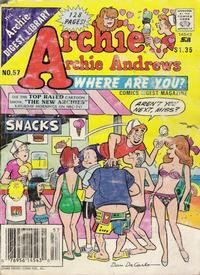 Cover Thumbnail for Archie... Archie Andrews, Where Are You? Comics Digest Magazine (Archie, 1977 series) #57