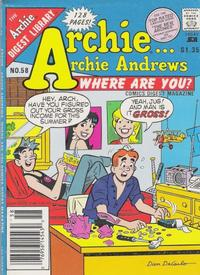 Cover Thumbnail for Archie... Archie Andrews, Where Are You? Comics Digest Magazine (Archie, 1977 series) #58