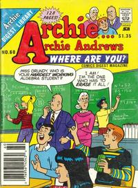 Cover Thumbnail for Archie... Archie Andrews, Where Are You? Comics Digest Magazine (Archie, 1977 series) #60