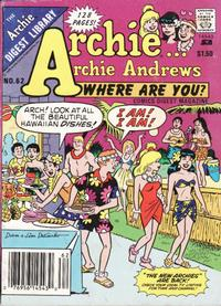 Cover Thumbnail for Archie... Archie Andrews Where Are You? Comics Digest Magazine (Archie, 1977 series) #62