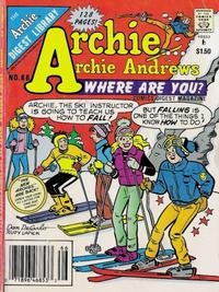 Cover Thumbnail for Archie... Archie Andrews, Where Are You? Comics Digest Magazine (Archie, 1977 series) #66
