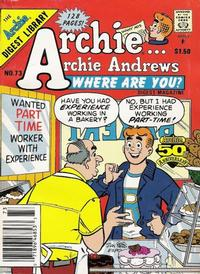 Cover Thumbnail for Archie... Archie Andrews Where Are You? Comics Digest Magazine (Archie, 1977 series) #73