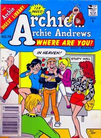Cover Thumbnail for Archie... Archie Andrews Where Are You? Comics Digest Magazine (Archie, 1977 series) #78