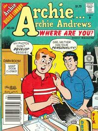 Cover Thumbnail for Archie... Archie Andrews Where Are You? Comics Digest Magazine (Archie, 1977 series) #94 [Newsstand]