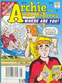 Cover Thumbnail for Archie... Archie Andrews Where Are You? Comics Digest Magazine (Archie, 1977 series) #96