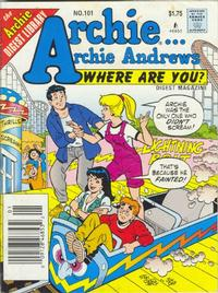 Cover Thumbnail for Archie... Archie Andrews Where Are You? Comics Digest Magazine (Archie, 1977 series) #101
