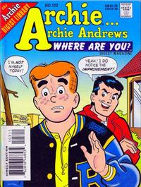 Cover Thumbnail for Archie... Archie Andrews Where Are You? Comics Digest Magazine (Archie, 1977 series) #103