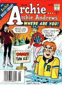 Cover Thumbnail for Archie... Archie Andrews Where Are You? Comics Digest Magazine (Archie, 1977 series) #105