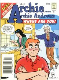 Cover Thumbnail for Archie... Archie Andrews Where Are You? Comics Digest Magazine (Archie, 1977 series) #107