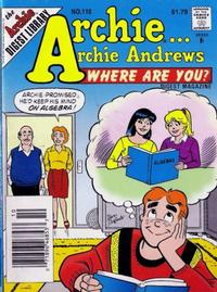 Cover Thumbnail for Archie... Archie Andrews Where Are You? Comics Digest Magazine (Archie, 1977 series) #110