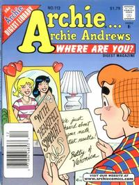 Cover Thumbnail for Archie... Archie Andrews Where Are You? Comics Digest Magazine (Archie, 1977 series) #112