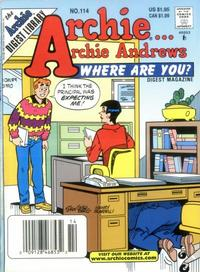 Cover Thumbnail for Archie... Archie Andrews Where Are You? Comics Digest Magazine (Archie, 1977 series) #114
