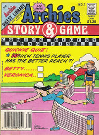 Cover Thumbnail for Archie's Story & Game Digest Magazine (Archie, 1986 series) #1