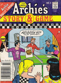 Cover Thumbnail for Archie's Story & Game Digest Magazine (Archie, 1986 series) #3