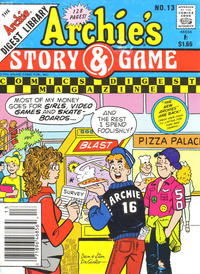Cover Thumbnail for Archie's Story & Game Digest Magazine (Archie, 1986 series) #13
