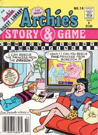 Cover Thumbnail for Archie's Story & Game Digest Magazine (Archie, 1986 series) #14 [Newsstand]