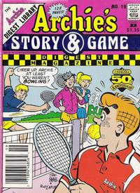 Cover Thumbnail for Archie's Story & Game Digest Magazine (Archie, 1986 series) #19 [Newsstand]