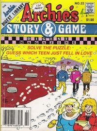 Cover for Archie's Story & Game Digest Magazine (Archie, 1986 series) #22