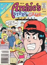 Cover Thumbnail for Archie's Story & Game Digest Magazine (Archie, 1986 series) #24