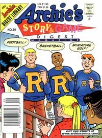 Cover Thumbnail for Archie's Story & Game Digest Magazine (Archie, 1986 series) #39