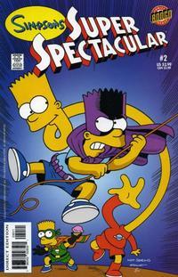 Cover Thumbnail for Bongo Comics Presents Simpsons Super Spectacular (Bongo, 2005 series) #2