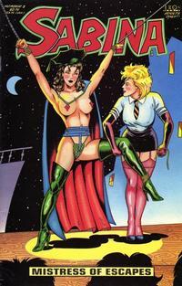 Cover Thumbnail for Sabina (Fantagraphics, 1993 series) #3