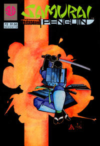 Cover Thumbnail for Samurai Penguin (Slave Labor, 1986 series) #2