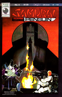 Cover for Samurai Penguin (Slave Labor, 1986 series) #4