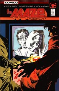 Cover Thumbnail for The Maze Agency (Comico, 1988 series) #2