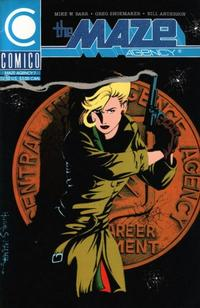 Cover Thumbnail for The Maze Agency (Comico, 1988 series) #7