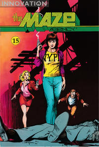 Cover Thumbnail for The Maze Agency (Innovation, 1989 series) #15