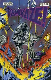 Cover Thumbnail for Dai Kamikaze! (Now, 1987 series) #3