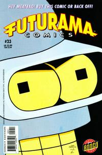 Cover Thumbnail for Bongo Comics Presents Futurama Comics (Bongo, 2000 series) #23