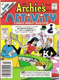 Cover Thumbnail for Archie's Activity Comics Digest Magazine (Archie, 1985 series) #3