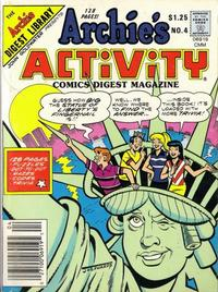 Cover Thumbnail for Archie's Activity Comics Digest Magazine (Archie, 1985 series) #4