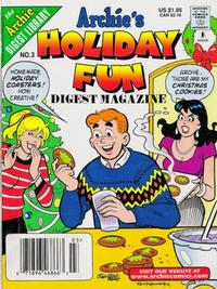 Cover Thumbnail for Archie's Holiday Fun Digest (Archie, 1997 series) #3