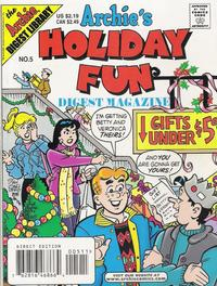 Cover Thumbnail for Archie's Holiday Fun Digest (Archie, 1997 series) #5
