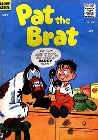 Cover Thumbnail for Pat the Brat (Archie, 1956 series) #20
